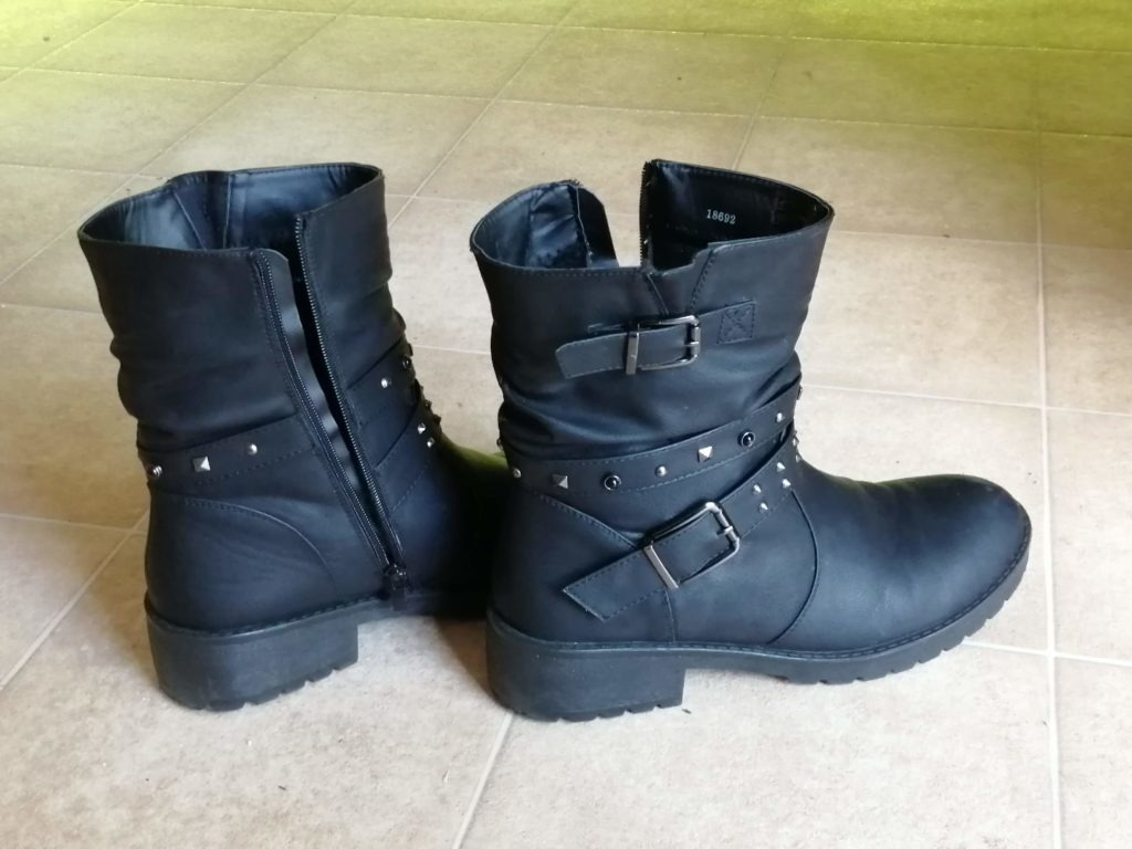boots badass outfit costume armour confidence